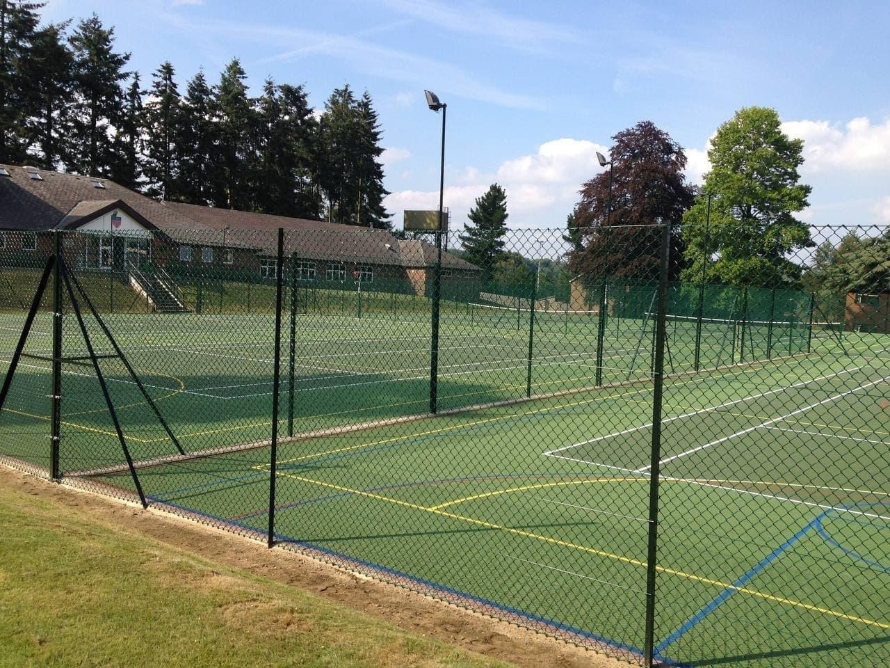 MUGA court in Sussex